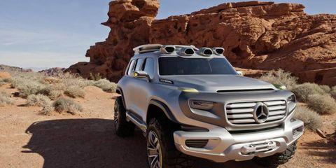 Mercedes Ener-G Force Concept