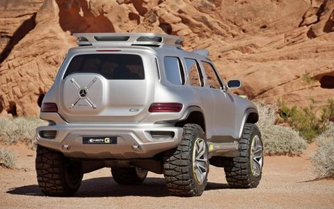 Mercedes Ener-G Force Concept