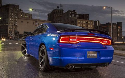 The 2013 Dodge Charger Daytona debuts at the LA Auto Show.