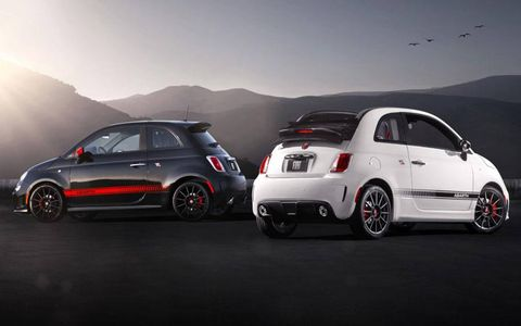 The Fiat 500c Abarth joins its hatchback sibling.