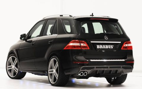 Power and torque grow with the Brabus PowerXtra kit