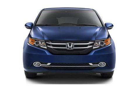 The 2014 Honda Odyssey Touring Elite starts at $45,280.