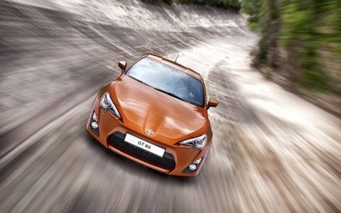 The 86 was jointly developed with Subaru, which debuts its version--the BRZ--at this week's Tokyo Motor Show. Toyota did the styling, while Subaru provided the four-cylinder horizontally opposed boxer engine. Subaru will build both versions at its factory in Gumma, Japan.