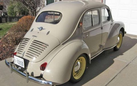 Beetles and Minis are dime-a-dozen; the relative rarity of the 1950 Renault 4CV ensures your classic European ride will stand out.