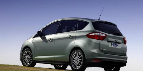 Offered only as a hybrid and plug-in hybrid in the United States, Ford's C-Max MPV hasn't seen sales anywhere near those of Toyota's Prius.