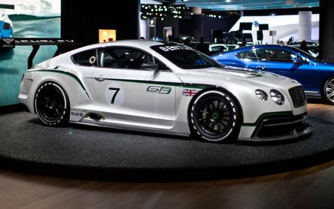 The Continental GT3 and its roadgoing, 616-hp, 205-mph brother, the GT Speed.