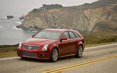 An AW Flash Drive: 2011 Cadillac CTS-V Wagon