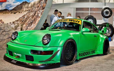 RAUH-Welt Begriff Pandora One Porsche at SEMA 2011.