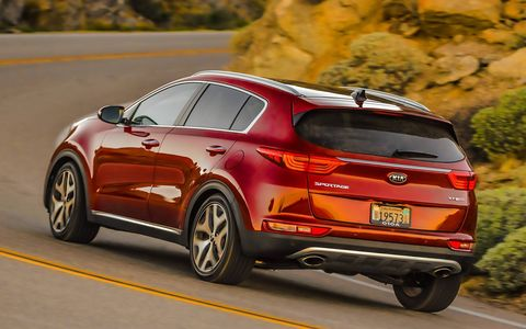 The engines are carryover but the rest of the Kia Sportage is all-new.
