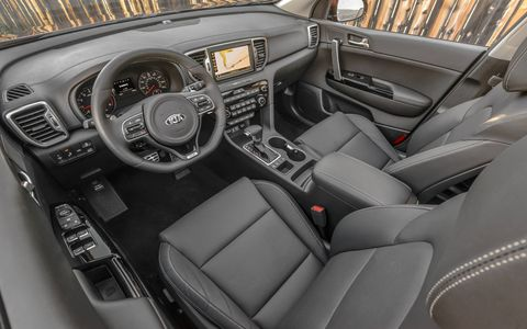 The larger exterior means more room for both front and rear-seat passengers. There's also an optional 320-watt eight-speaker Hamon/Kardon audio system.