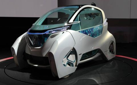 The Honda Micro Commuter Concept is a two-seat cars