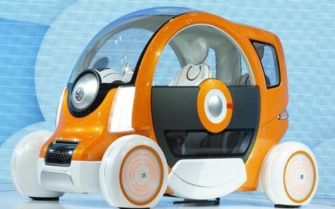 The Suzuki Q is a two-seat microcar