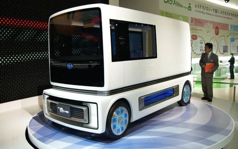 Daihatsu showed off its FC Sho Case vehicle at the Tokyo Motor Show