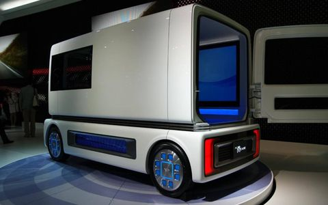 Daihatsu showed off its FC Sho Case vehicle at the Tokyo Show