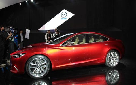 The Takeri would get Mazda's SKY-ACTIV technology