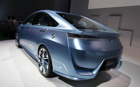 FCV-R stands for Fuel Cell Vehicle - Reality & Revolution