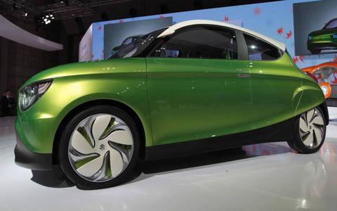 The Suzuki Regina is a compact car concept.