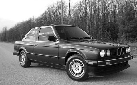 The second-generation BMW 3-series was larger and longer than its predecessors
