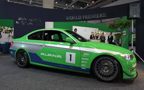 Don't expect to see a BMW Alpina B3 GT3 Limited 99 on the street for a while