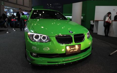 This is the first Alpina BMW in green
