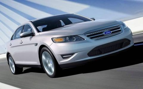 The 2010 Ford Taurus
