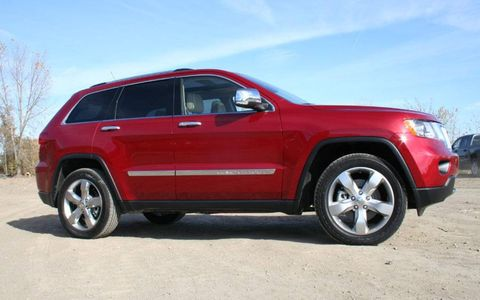 Driver's Log Gallery: 2011 Jeep Grand Cherokee Overland