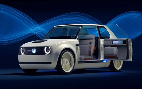 Honda's Urban EV concept is the perfect blend of progress and nostalgia.