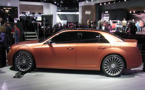 Chrysler introduced the 300S Turbine edition at NAIAS.