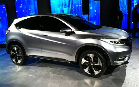 The Honda Urban SUV Concect debuted on Monday in Detroit.
