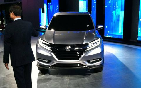 The Honda Urban SUV is based on the Fit.