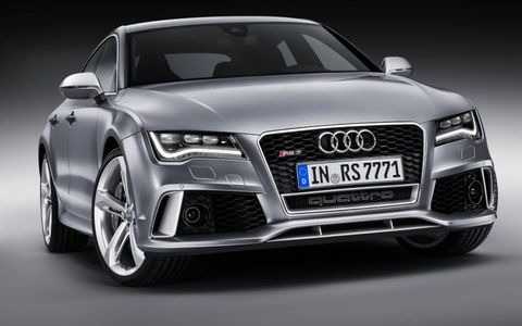 The Audi RS7 is a high-performance version of the Audi A7.