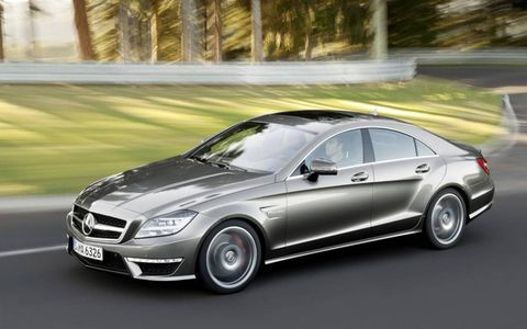 The 2012 Mercedes-Benz CLS AMG