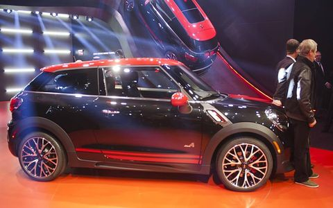 Live from Detroit, it's the Mini Paceman...JCW!