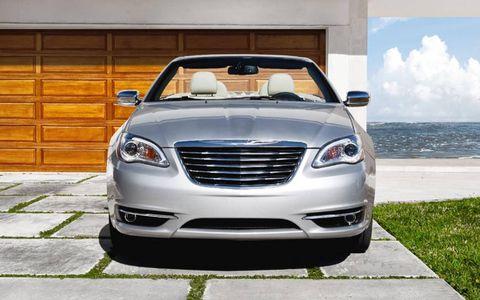 The 2011 Chrysler 200 convertible
