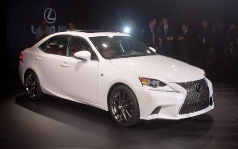 """Lexus called the spindle grille """"iconic."""" A little early for that, isn't it?"""