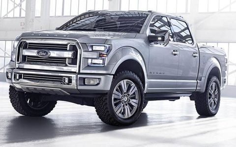 The Ford Atlas concept previews the next-generation F-150 pickup truck.