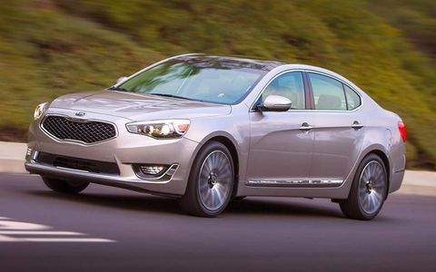 The 2014 Kia Cadenza goes on sale this summer.