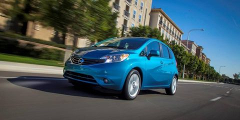 The redesigned 2014 Nissan Versa Note goes on sale later this year.