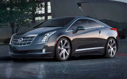 The Cadillac ELR uses the same powertrain as the Chevrolet Volt.