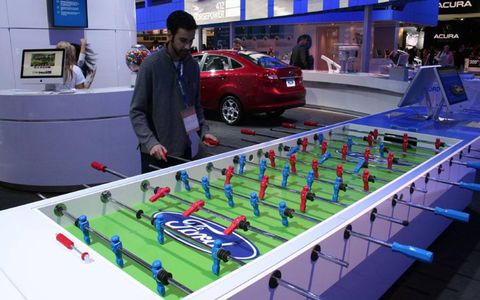 Ford foosball for fun and profit.