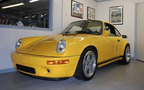 One of six lightweight Ruf CTRs, this was apparently the only one constructed for the US