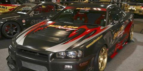 Sunline Auto full-carbon R34 Skyline GT-R