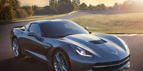 Lightweight materials allowed the 2014 Corvette Stingray to shed 99 pounds.