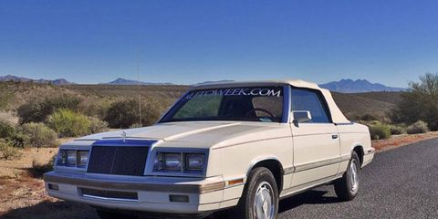 Cleaning and prepping our 1982 Chrysler LeBaron convertible proved to be a time-consuming process.