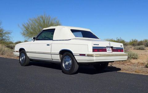 Say what you will about the LeBaron's styling, but at the very least it has clean lines.