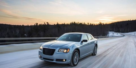 The 2013 Chrysler 300 Glacier costs $37,840 including a destination charge of $995.