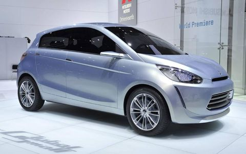 Mitsubishi Concept Global Small