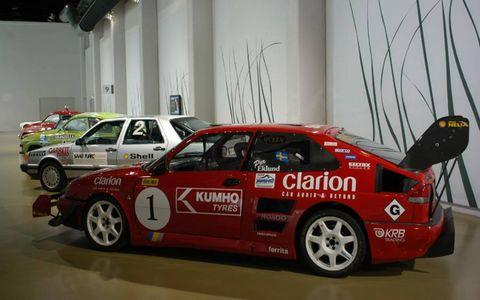 Saab 900 Turbo race car