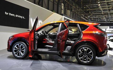 The Mazda Minagi concept