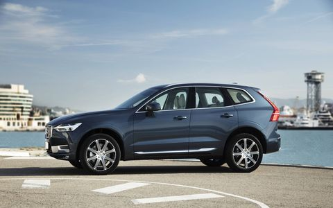 The Volvo XC60 T6 AWD features a turbo and supercharged 2.0-liter I4.